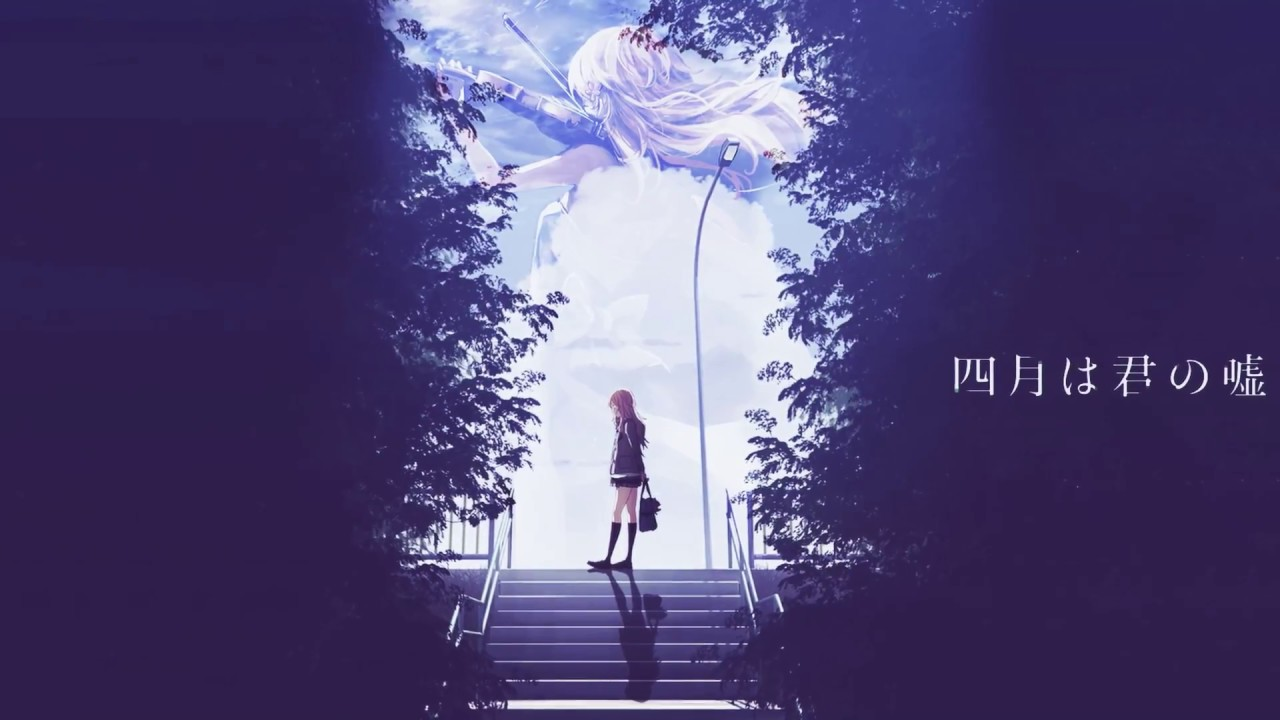 Your Lie In April Wallpaper Diashow Youtube