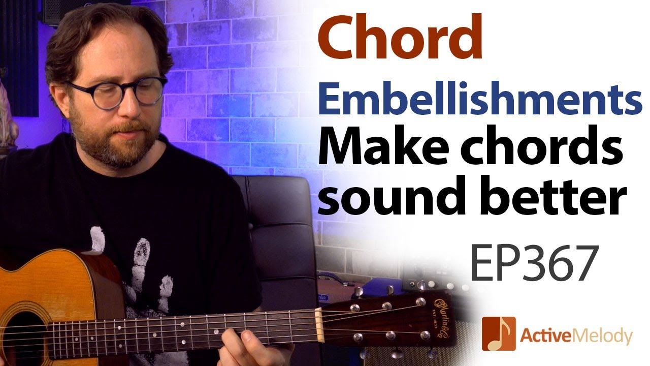 Make basic chords sound more interesting. Chord Embellishments & Fill Licks - Guitar Lesson EP367