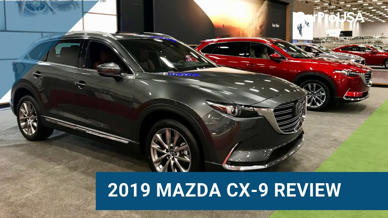 Mazda Cx 9 >> 2019 Mazda CX-9 Signature Test Drive and Review - YouTube