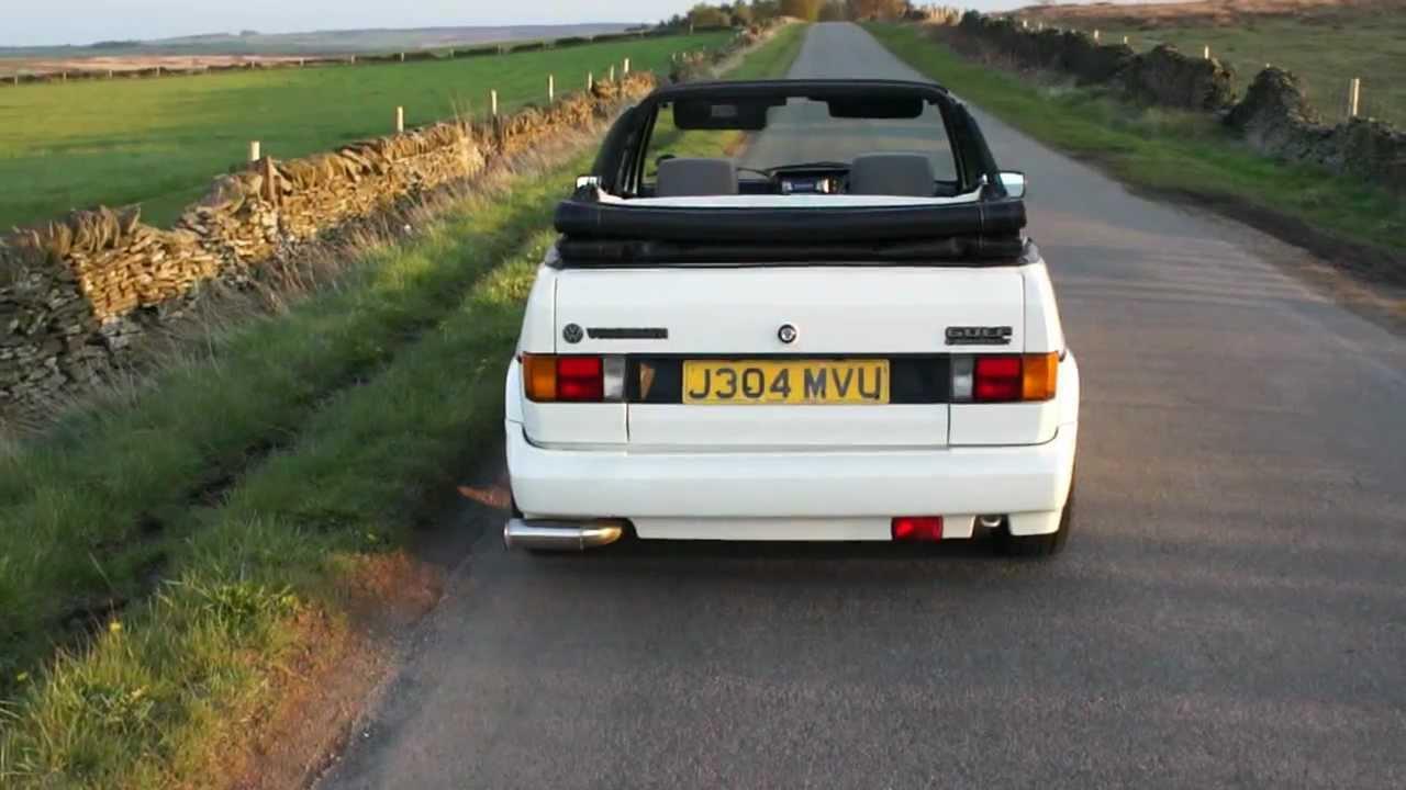 mk1 golf cabriolet 1991 clipper youtube. Black Bedroom Furniture Sets. Home Design Ideas
