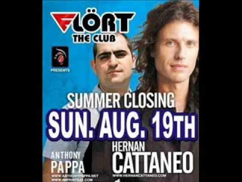 Hernan Cattaneo & Anthony Pappa - Live @ Flört The Club,Siófok Summer Closing Party (2007-Aug-19)