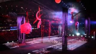 видео: Церемония открытия сочи 2014