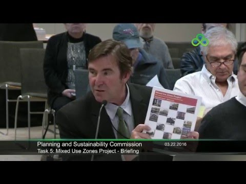 Planning and Sustainability Commission meeting 3/22/2016