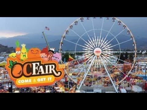 Orange County Fair  in Costa Mesa, Ca 2017