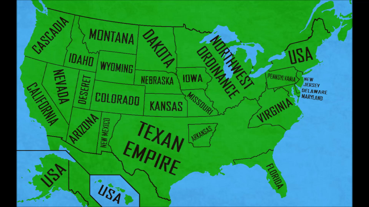 Alternate Future Of Usa Remastered Ep 6 Rip Texas Mapping Youtube
