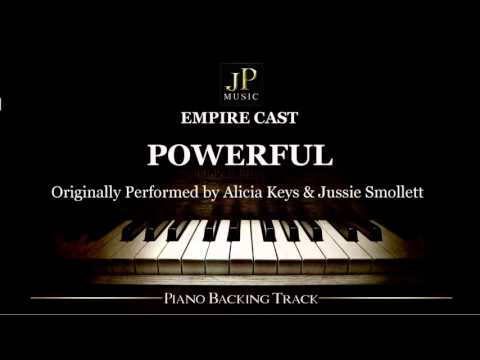 Empire Cast - Powerful feat. Jussie Smollett & Alicia Keys (Piano Accompaniment)