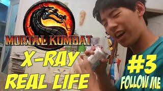 Mortal kombat X: XRAY IN REAL LIFE PART 3. HD