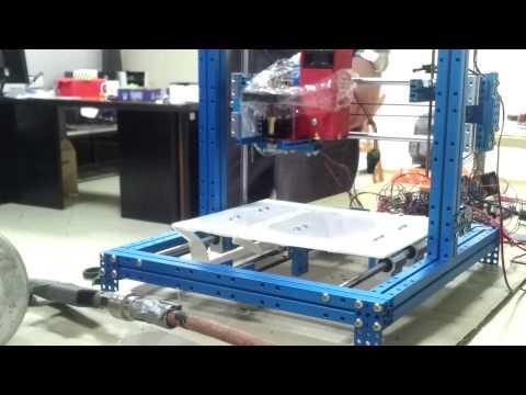 Endurance 3.5 watt laser test. Тестирование 3.5 ваттного лазера