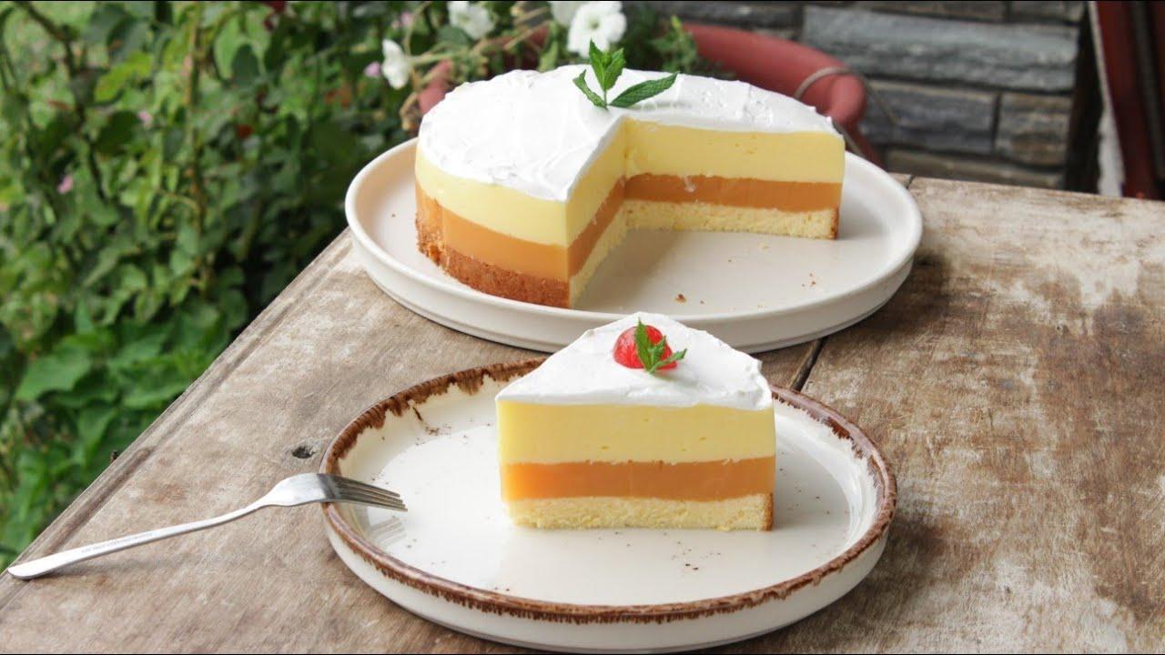 Απίστευτη Συνταγάρα! Δροσερή Τούρτα με Φρουτένια Γεύση (Καλύτερη και από γιαουρτογλυκό) - Juice Cake