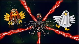 Chicken Invaders 5: Halloween Edition - All Bosses
