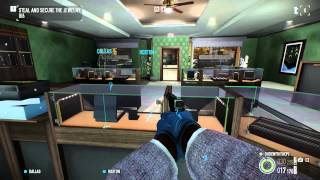 Payday 2 gameplay PC max settings (1080p)