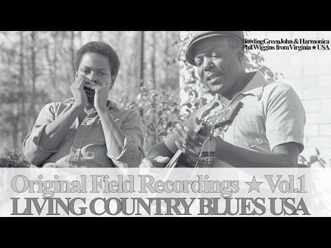 Living Country Blues Vol.1 - Bowling Green John & Harmonica Phil Wiggins (Full Album)