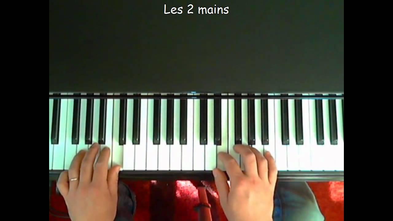 Lecon de piano a queue - 4 8