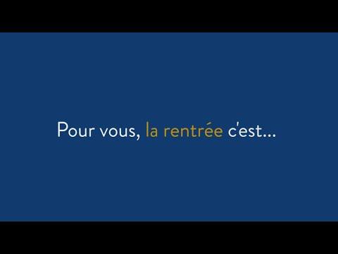 La rentrée 2015-2016 à l'université Paris 1 Panthéon-Sorbonne
