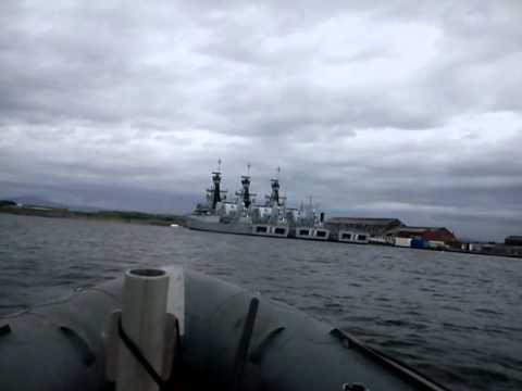 barrow-docks - wind farm vessels in the dock