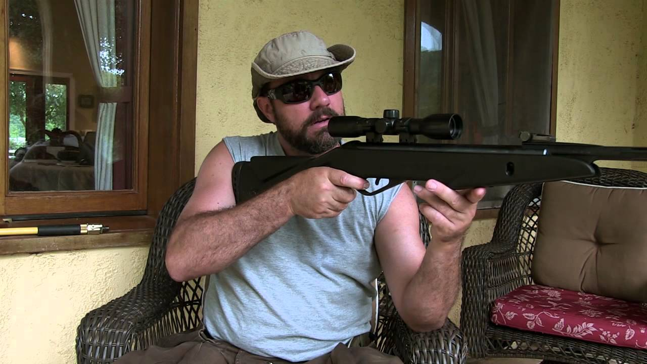 Gamo Silent Cat Air Rifle Compared to Ruger 1022