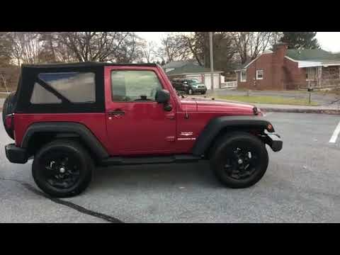 Used 2013 Jeep Wrangler Sahara 1C4GJWBG5DL597501 Hagerstown, Chambersburg, Martinsburg, Frederick