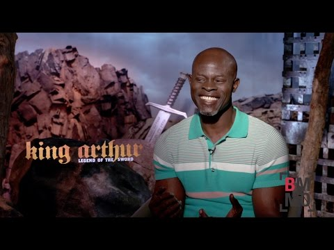 Djimon Hounsou Interview - King Arthur: Legend of the Sword
