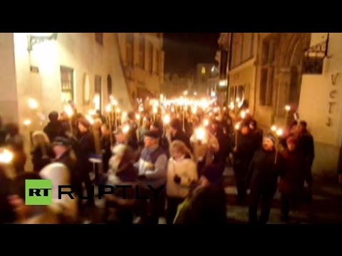 LIVE: Soldiers of Odin' to hold torch-lit march in Tallinn