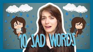 Learn the Top 10 French Sad Words