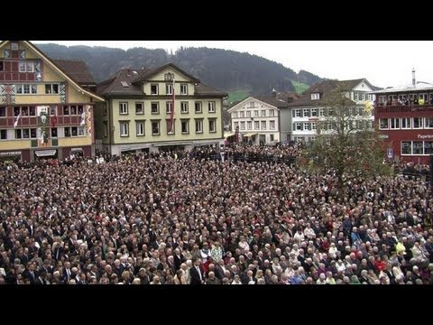 Historic open-air democracy takes place in Swiss canton