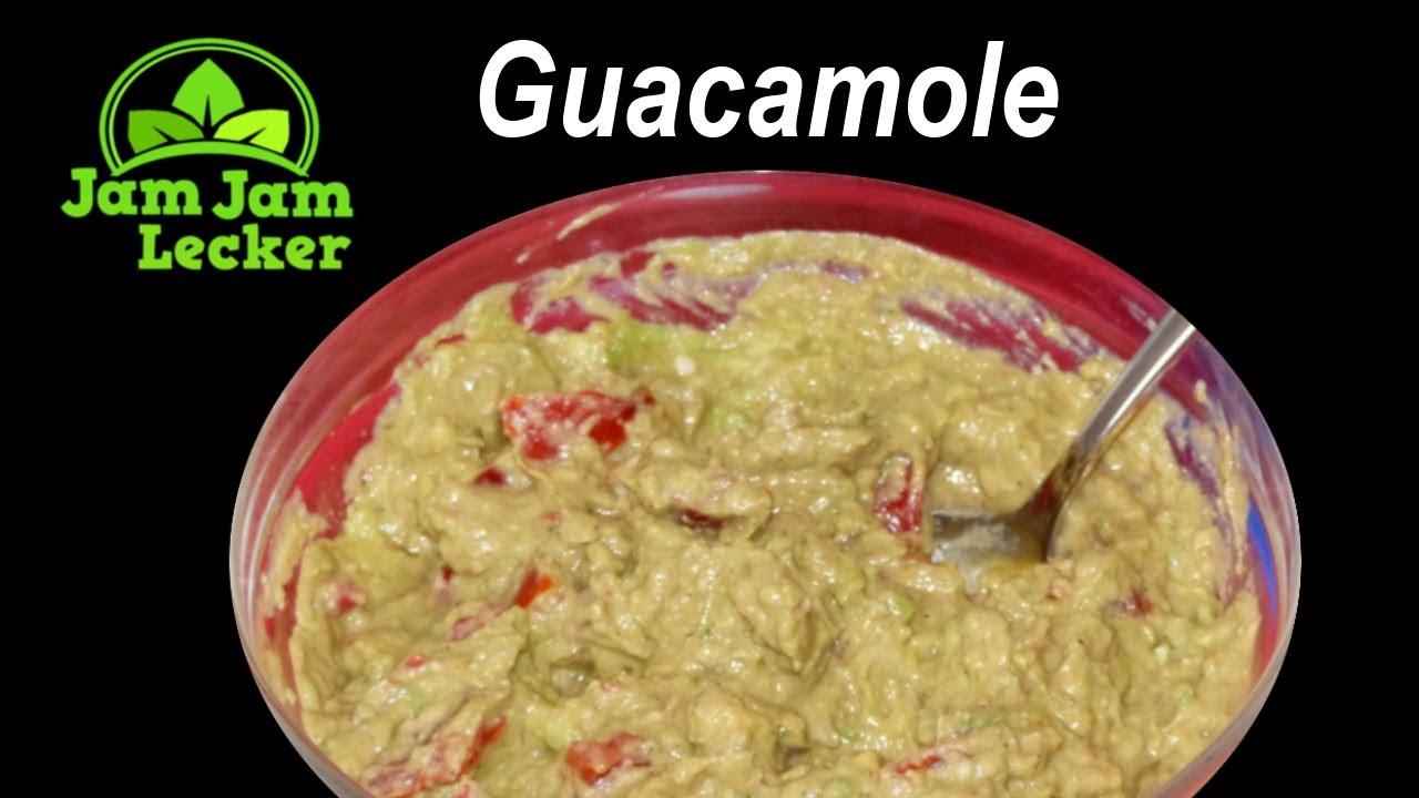 guacamole dip avocado f r tortilla chips mexikanisch rezept einfach selber machen youtube. Black Bedroom Furniture Sets. Home Design Ideas