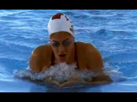 Stephanie Rice Breast Stroke Workout Video