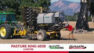 Gambar cover Serafin PastureKing Double Disc Seeder - Customer Testimonial Video