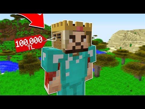 ZENGİN'in KAFASINDAKİ 100.000 TL'lik GİZLİ GEÇİT! ? - Minecraft thumbnail