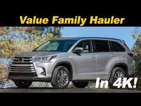 2017/2018 Toyota Highlander & Highlander Hybrid Review and Road Test