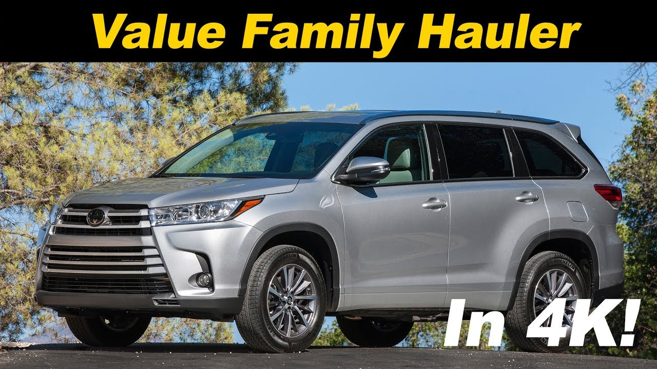 2017 2018 Toyota Highlander Hybrid Review And Road Test