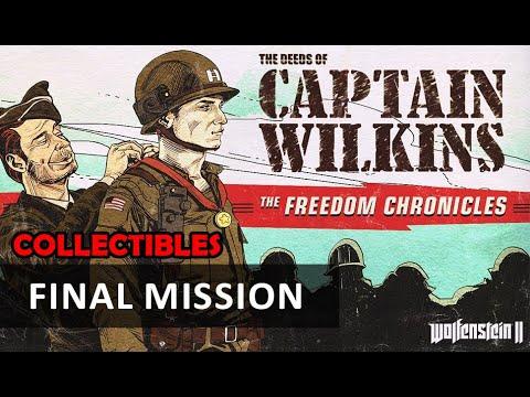 Wolfenstein 2 DLC - The Deeds of Captain Wilkins: Final Mission (Collectibles) |