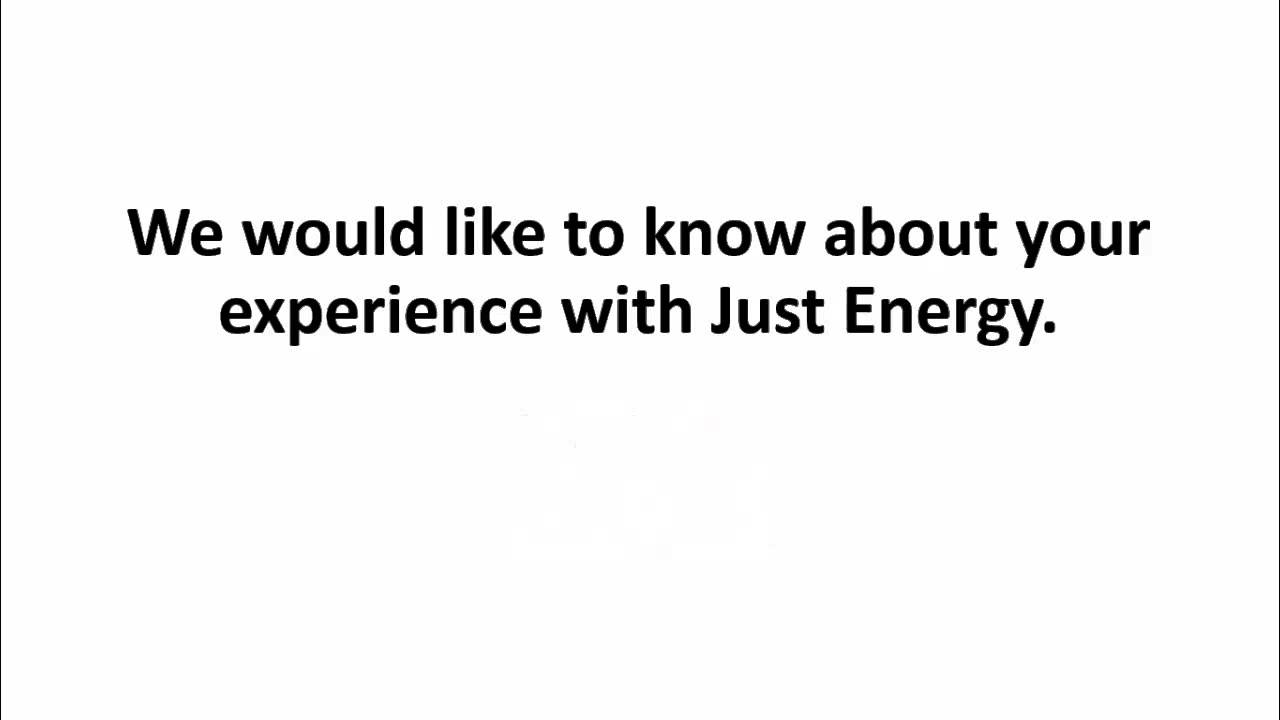 Just Energy Reviews Review