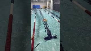 문현동에 다이아...둘째시우...수영강습 배영
