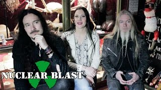 NIGHTWISH - Tuomas, Floor & Marco discuss Reality Music Shows (KERRANG! EXCLUSIVE INTERVIEW)