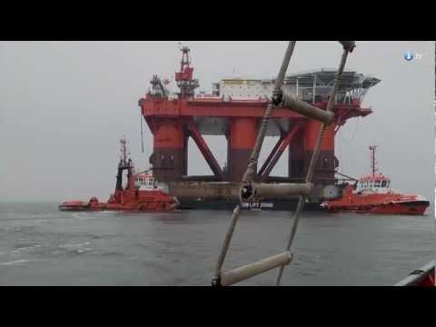 Olbrzymia platforma offshore Safe Caledonia opuszcza Gdańsk po remoncie w Stoczni Remontowa
