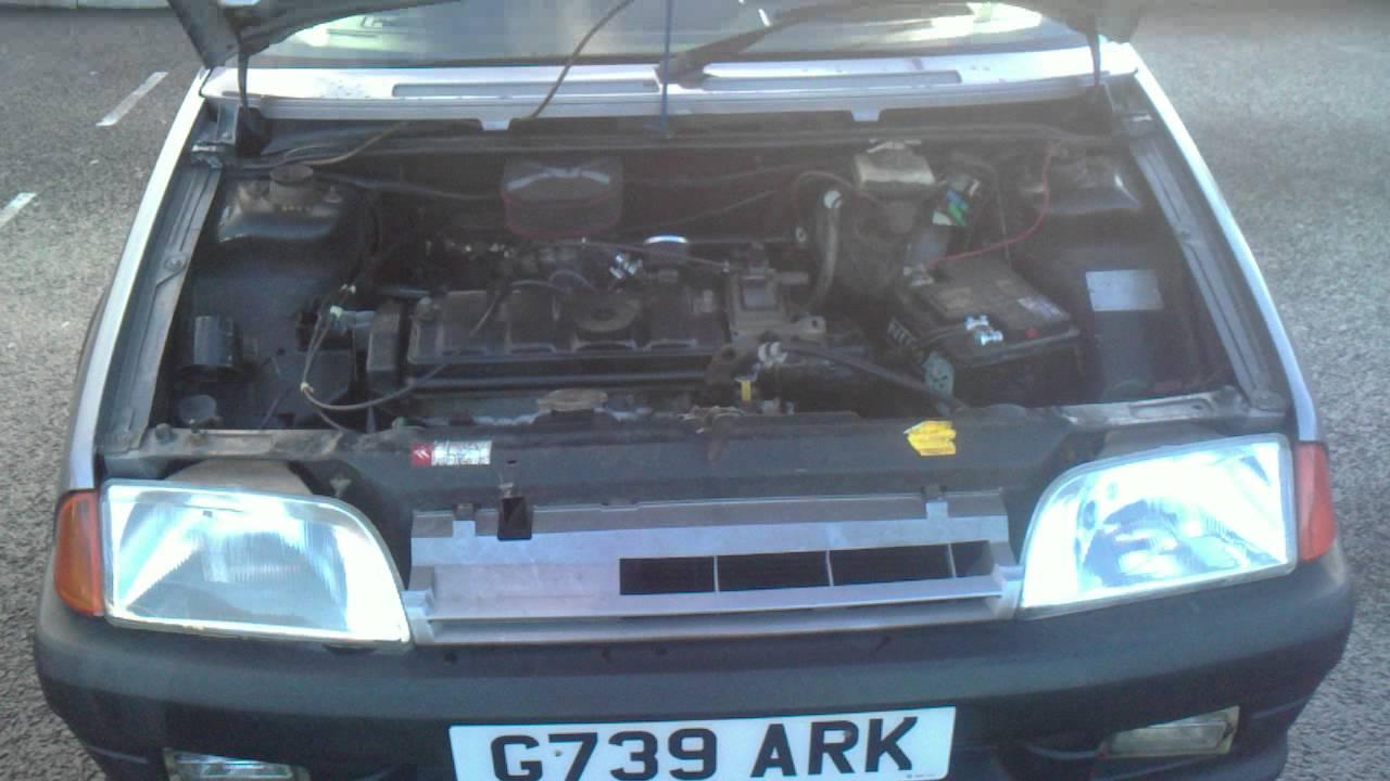 Quick Cheap Car Insurance >> 1990 CITROEN AX GT MK1 FOR SALE - YouTube