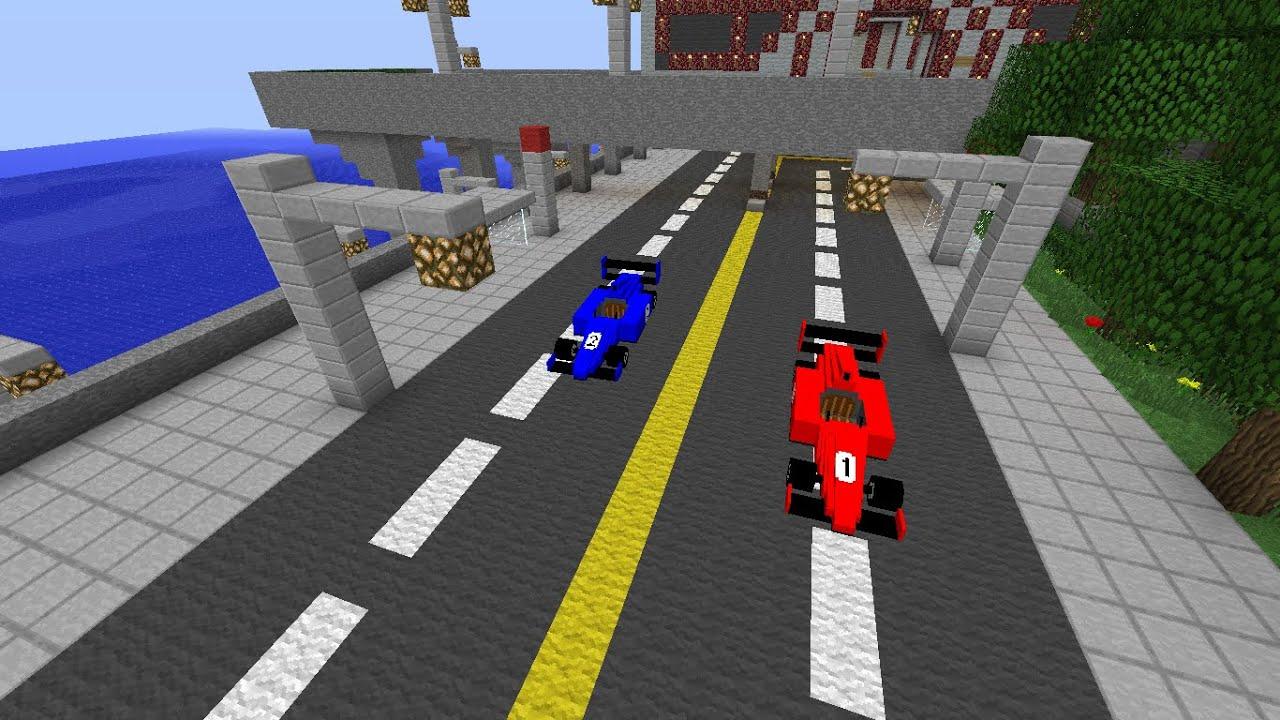 майнкрафт гонки #11