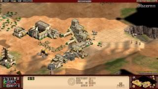 Aoe2HD - 1v1 Dry Arabia Berbers 1700 Games