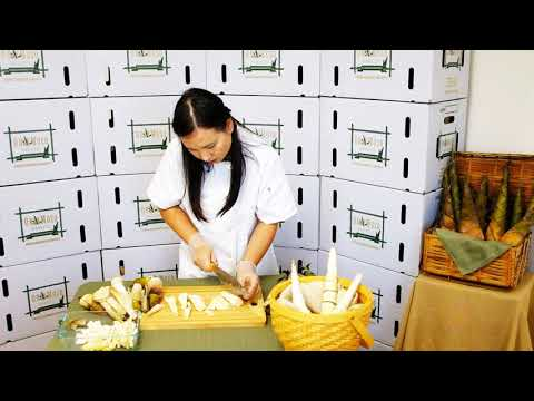 How to Trim Bamboo Shoots