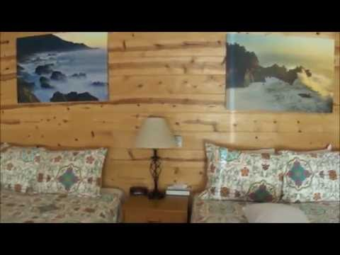 Big Sur RIver Inn  Room with two Queen beds