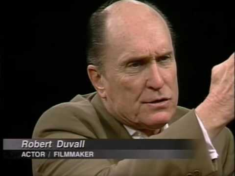 Robert Duvall Job İnterview On Charlie Rose 1998 & F Kennedy Film 2002 Component 1