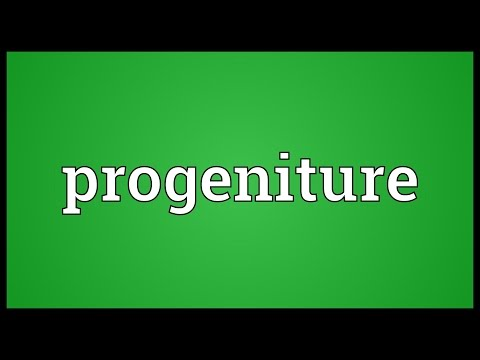 Header of progeniture