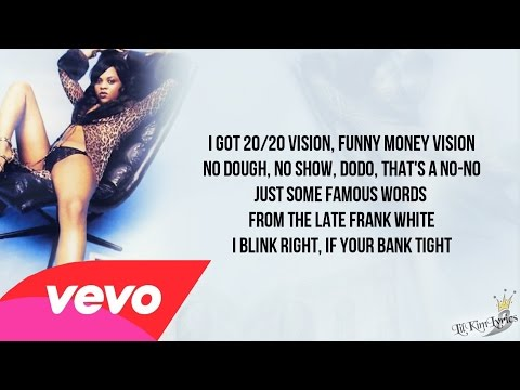 Lil' Kim - Money Talk (Lyrics Video) HD