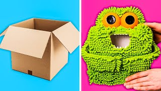 40 AMAZING CARDBOARD DIY PROJECTS FOR THE WHOLE FAMILY