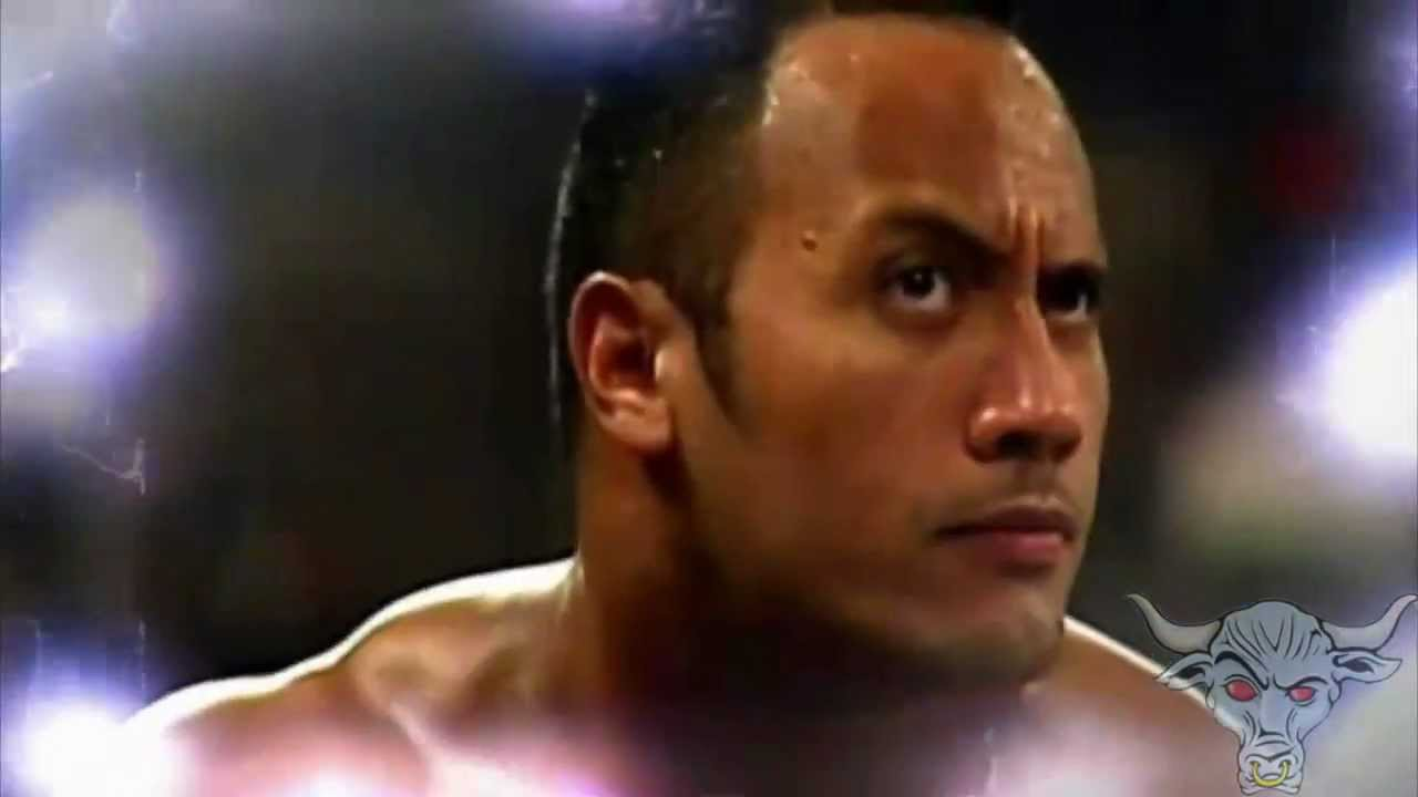 wwe the rock titatron with 2000 theme youtube. Black Bedroom Furniture Sets. Home Design Ideas