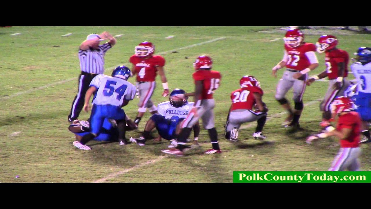 "Corrigan Bulldogs SMASH Diboll in the Diboll ""Wood Shed""...10/03/14"