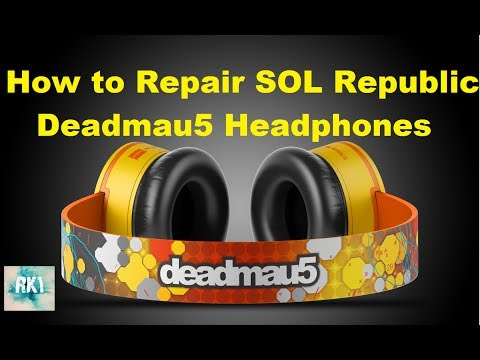 Repair: SOL Republic DeadMau5 Headphones