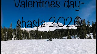 Valentines day from Mt Shasta CA -channel from adama