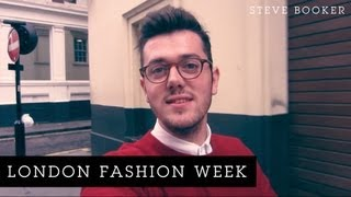 London Fashion Week | Steve Booker Thumbnail